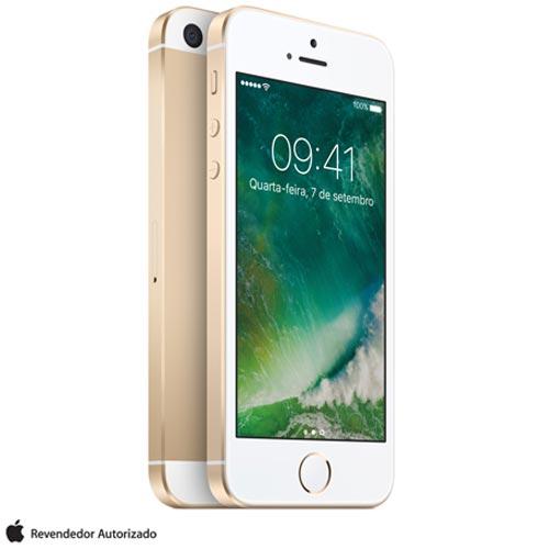 """iPhone SE Dourado, com Tela de 4"""", 4G, 32 GB e Câmera de 12 MP - MP842BR/A, Dourado, 0000004.00, True, 1, N, True, True, True, True, True, True, I, iPhone SE, iOS, Wi-Fi + 4G, 4'', Até 4'', A9, 32 GB, 12 MP, 1, Não, Sim, Sim, Não, Sim, Nano Chip, 12 meses"""