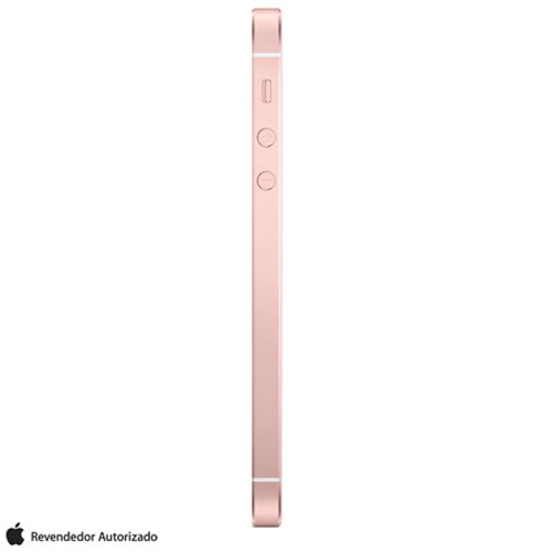 """iPhone SE Rosa Dourado, com Tela de 4"""", 4G, 32 GB e Câmera de 12 MP - MP852BR/A, Rosa, 0000004.00, True, 1, N, True, True, True, True, True, True, I, iPhone SE, iOS, Wi-Fi + 4G, 4'', Até 4'', A9, 32 GB, 12 MP, 1, Não, Sim, Sim, Não, Sim, Nano Chip, 12 meses"""