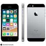 """iPhone SE Cinza Espacial, com Tela de 4"""", 4G, 128 GB e Câmera de 12 MP - MP862BR/A"""