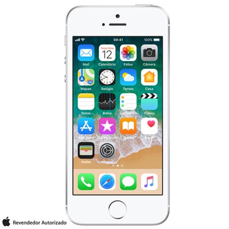 , Prata, 0000004.00, True, 1, N, True, True, True, True, True, True, I, iPhone SE, iOS, Wi-Fi + 4G, 4'', Até 4'', A9, 128 GB, 12 MP, 1, Não, Sim, Sim, Não, Sim, Nano Chip, 12 meses