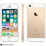 """iPhone SE Dourado, com Tela de 4"""", 4G, 128 GB e Câmera de 12 MP - MP882BR/A"""