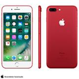 """iPhone 7 Plus Vermelho/Red, com Tela de 5,5"""", 4G, 128 GB e Câmera de 12 MP - MPQW2BZ/A"""