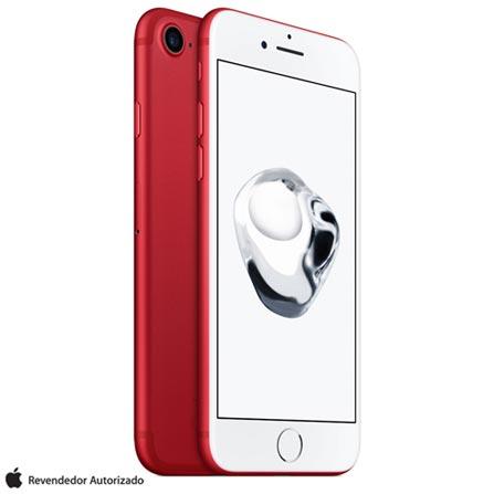 """iPhone 7 Vermelho/Red com Tela de 4,7"""", 4G, 128 GB e Câmera de 12 MP - MPRL2BR/A, Bivolt, Bivolt, Vermelho, 0000004.70, True, 1, N, True, True, True, True, True, True, I, iPhone 7, iOS, Wi-Fi + 4G, 4.7'', Acima de 4'', A10, 128 GB, 12 MP, 1, Não, Não, Nano Chip, 12 meses"""