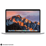 "MacBook Pro Apple, Intel® Core™ i7, 16GB, 256GB, Tela de 15,4"", Touch Bar, Prata - MPTU2BZ/A"