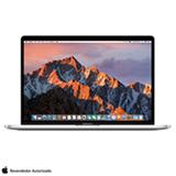 "MacBook Pro, Intel® Core™ i7, 16GB, 512GB, Tela de 15,4"", Touch Bar, Radeon Pro 560, Prata - MPTV2BZ/A"