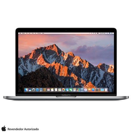 """MacBook Pro Apple, Intel® Core™ i5, 8GB, 512GB, Tela de 13,3"""", Touch Bar, Cinza Espacial - MPXW2BZ/A, Cinza, 512 GB, 000008, 1, APPLE, INTEL, N/A, CORE I5, macOS Sierra, 0000013.30, N/D, macOS Sierra, Intel Core i5, 8 GB, 512 GB, 13.3'', Até 13,9'', Retina, Não, Sim, Sim, Não, Não, 12 meses, 0000013.30"""