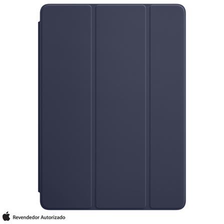 Capa Smart Cover para iPad Air em Poliuretano e Microfibra Azul Meia-noite -Apple - MQ4P2ZM/A, Azul, 12 meses, Poliuretano e Microfibra