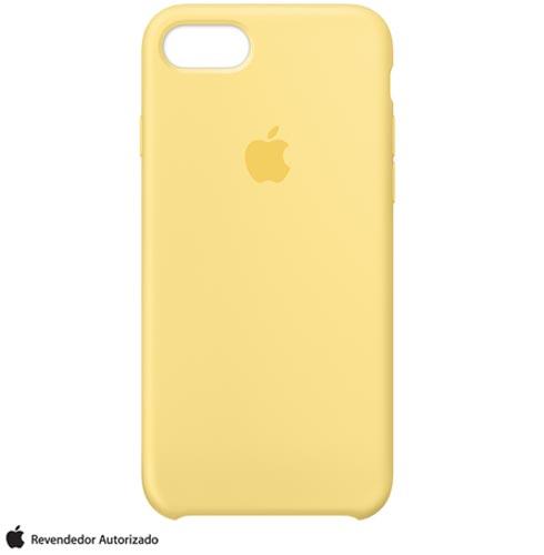Capa para iPhone 7 de Silicone Pólen - Apple - MQ5A2ZM/A, Amarelo, Capas e Protetores, 12 meses
