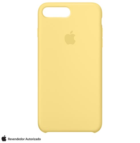 Capa para iPhone 7 Plus de Silicone Pólen - Apple - MQ5E2ZM/A, Amarelo, Capas e Protetores, 12 meses