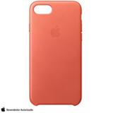 Capa para iPhone 7 de Couro Gerânio - Apple - MQ5F2ZM/A