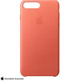 Capa para iPhone 7 e 8 Plus de Couro Gerânio - Apple - MQ5H2ZM/A