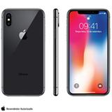 iPhone X Cinza Espacial, com Tela de 5,8', 4G, 256 GB e Câmera de 12 MP - MQAF2BZ/A