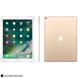"""iPad Pro 2° Geração Dourado com Tela de 12,9"""", 4G, 64 GB - MQEF2BZ/A"""
