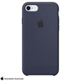 Capa para iPhone 7 e 8 de Silicone Azul Meia Noite - Apple - MQGM2ZM/A