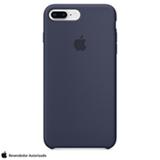 Capa para iPhone 7 e 8 Plus de Silicone Azul Meia-Noite - Apple - MQGY2ZM/A