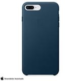 Capa para iPhone 7 e 8 Plus de Couro Azul-Cosmo - Apple - MQHR2ZM/A