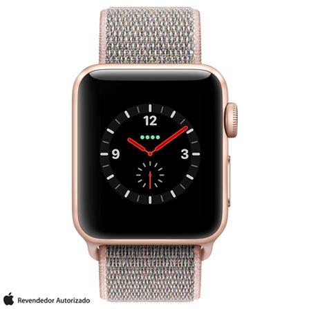 , Bivolt, Bivolt, Dourado, 38 mm, watchOS, Dual Core, 16 GB, Sim, 12 meses