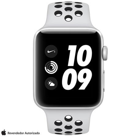 , Bivolt, Bivolt, Prata, 42 mm, watchOS, W2, 8 GB, Sim, 12 meses