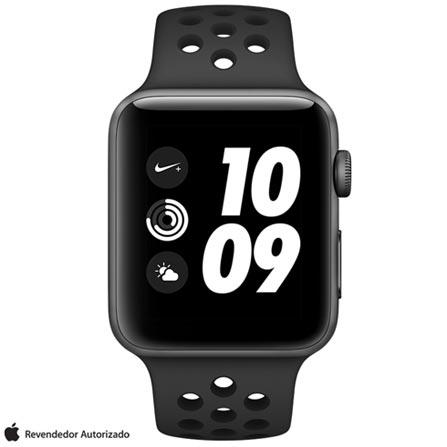 , Bivolt, Bivolt, Cinza, 42 mm, watchOS, W2, 8 GB, Sim, 12 meses