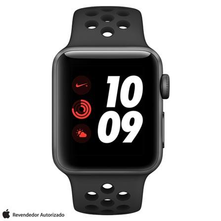 , Bivolt, Bivolt, Grafite, 38 mm, watchOS, Dual Core, 16 GB, Sim, 12 meses