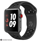 Apple Watch Nike+ GPS Grafite com Pulseira Esportiva Preta, 42 mm, 4G+Wi-Fi, Bluetooth e 16 GB