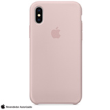 Capa para iPhone X de Silicone Areia Rosa - Apple - MQT62ZM/A