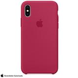 Capa para iPhone X de Silicone Vermelho-rosa - Apple - MQT82ZM/A
