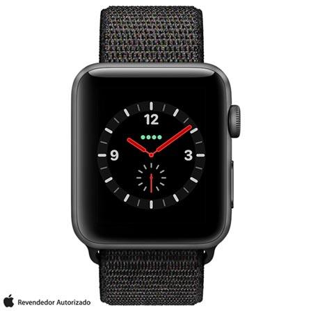 , Bivolt, Bivolt, Grafite, 42 mm, watchOS, Dual Core, 16 GB, Sim, 12 meses