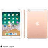 """iPad Dourado com Tela de 9,7"""", 4G, 128 GB e Processador A10 - MRM22BZ/A"""