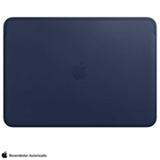 Capa para MacBook Pro 13' em Couro Azul Meia-noite - Apple - MRQL2ZM/A
