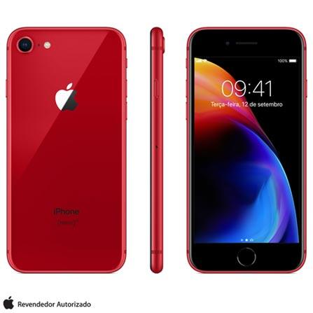 , Bivolt, Bivolt, Vermelho, 0000004.70, True, 1, N, True, True, True, True, True, True, I, iPhone 8, iOS, Wi-Fi + 4G, 4.7'', Acima de 4'', A11, 64 GB, 12 MP, 1, Não, Não, Nano Chip, 12 meses