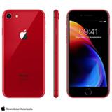 """iPhone 8 (PRODUCT) RED™ Special Edition Vermelho, com Tela de 4,7"""", 4G, 256 GB e Câmera de 12 MP - MRRN2BZ/A"""