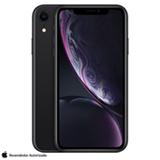 iPhone XR Preto com Tela de 6,1', 4G, 128 GB e Câmera de 12 MP - MRY92BZ/A