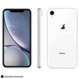 iPhone XR Branco com Tela de 6,1', 4G, 128 GB e Câmera de 12 MP - MRYD2BR/A