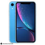 iPhone XR Azul, com Tela de 6,1', 4G, 128 GB e Câmera de 12 MP - MRYH2BZ/A