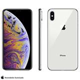 Iphone XS Max Prata, com Tela de 6,5', 4G, 512GB e Câmera de 12MP - MT572BZ/A