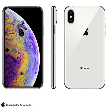IPHONE XS PRATA COM TELA DE 5,8\ BIVOLT