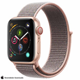 Apple Watch Sport Loop Dourado com Pulseira Esportiva Pink, 40 mm, Wi-Fi/4G, Bluetooth e 16 GB