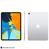 iPad Pro 2° Geração Wi-Fi Silver com Tela de 11', 256 GB e Processador A12x - MTXR2BZ/A