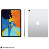 """iPad Pro 1° Geração Prata com Tela de 11"""", Wi-Fi + 4G, 64GB e Processador A12X - MU0U2BZ/A"""