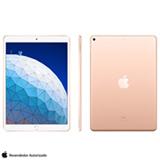 iPad Air Dourado com Tela de 10,5', 256 GB e Processador A12 - MUUT2BZ/A