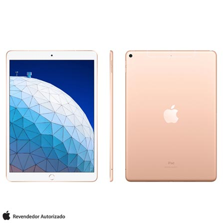 Tablet Apple Ipad Air 3 Mv0f2bz/a Dourado 64gb 4g