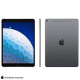 iPad Air Cinza Espacial com Tela de 10,5', 4G, 256GB e Processador Chip A12 Bionic - MV0N2BZ/A
