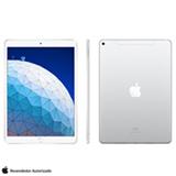 iPad Air Prata com Tela de 10,5', 4G, 256GB e Processador Chip A12 Bionic - MV0P2BZ/A