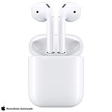 Fone de Ouvido sem Fio Apple AirPods sem Carregamento de Indução - MV7N2BE/A