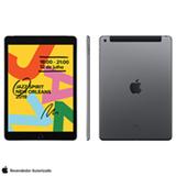 """iPad 7ª Geração Cinza Espacial com Tela de 10,2"""", 4G, 128 GB e Processador A10 - MW6E2BZ/A"""