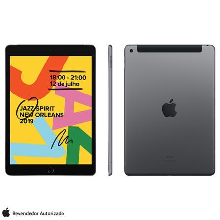 Tablet Apple Ipad 7 Mw6e2bz/a Cinza 128gb 4g
