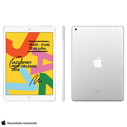 Tablet Apple Ipad 7 Mw752bz/a Prata 32gb Wi-fi