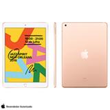 iPad 7ª Geração Dourado com Tela 10,2, Wi-Fi, iPadOS, Processador A10 Fusion e 32GB - MW762BZ/A