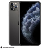 """iPhone 11 Pro Max Cinza Espacial, com Tela de 6,5"""", 4G, 256 GB e Câmera de 12 MP - MWHJ2BZ/A"""